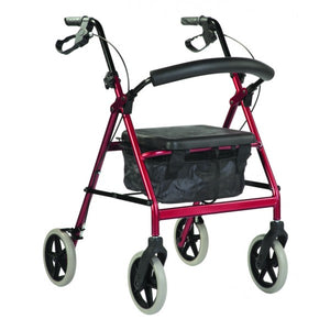 Wheeled Walker - All Terrain - Red
