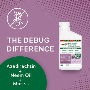 Debug Turbo for Organic Gardening - Concentrate (8 fl. oz)