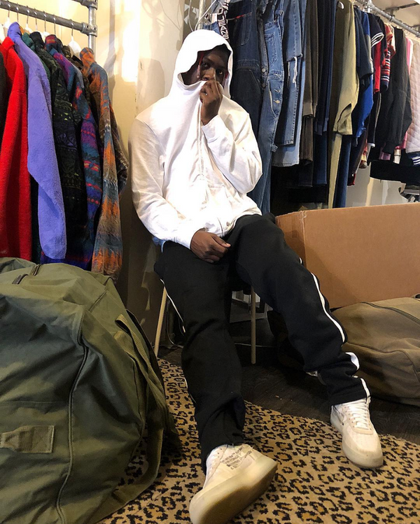 Lil Yachty drops past Storeroom Vintage before headlining Hidden Festival in Syd