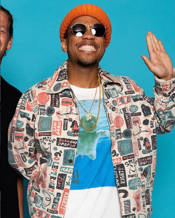 Andersoon Paak in Nirvana tee from Storeroom Vintage