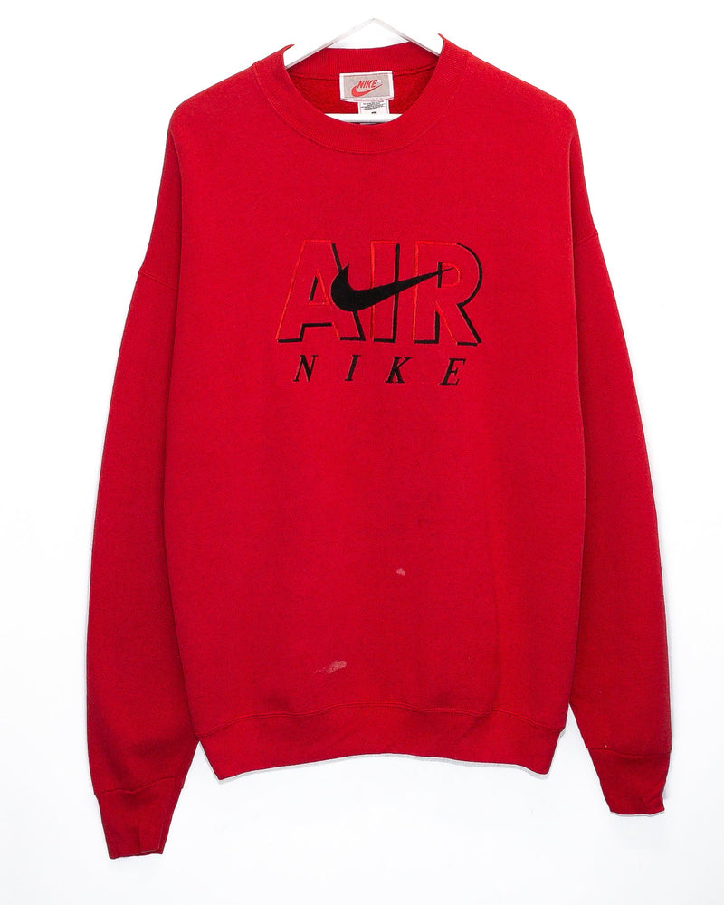 Vintage Nike Air Embroidered Bootleg Jumper <br> (XL)