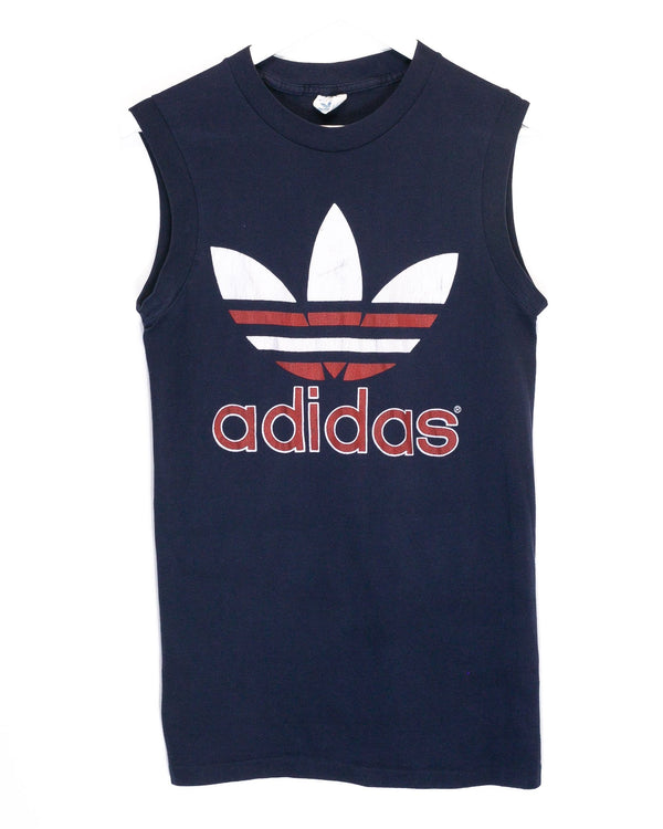 Vintage Adidas 80's Sleeveless T-Shirt <br> (S/M)