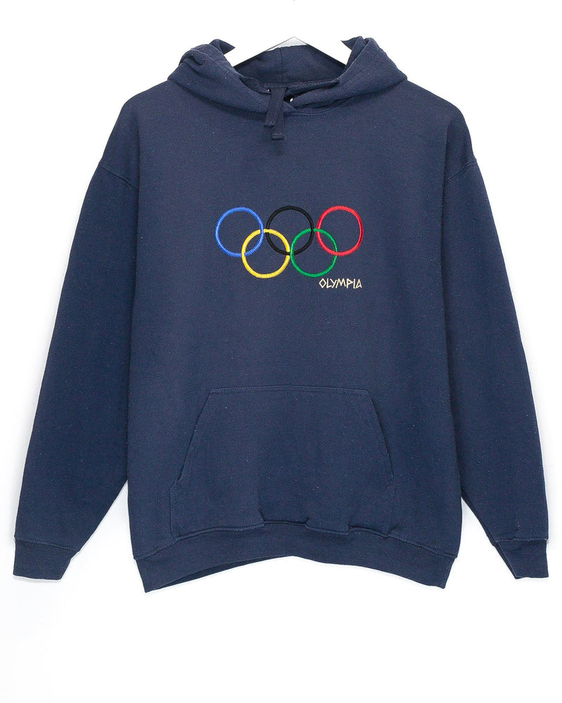 Vintage Olympics Embroidered Hoodie <br> (S/M)