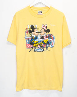 Vintage Mickey & Minnie Mouse T-Shirt <br> (M)