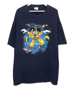 Vintage Mickey Mouse T-Shirt <br> (XXL)