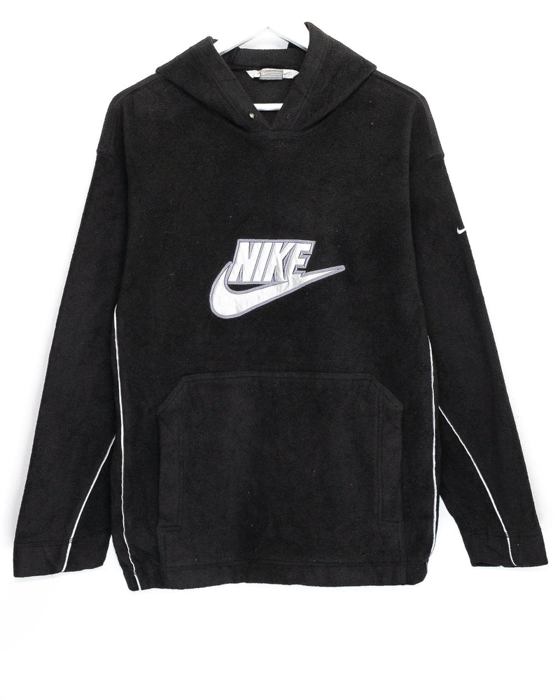 Vintage Nike Embroidered Fleece Hoodie <br> (M)