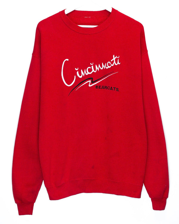 Vintage University of Cincinnati Embroidered Jumper <br> (XL)