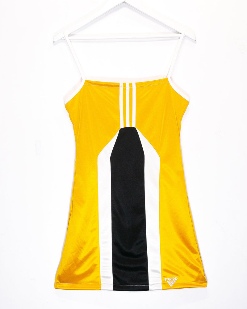 Rework'd Adidas Tracksuit Dress <br> (S)