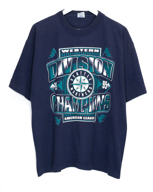 Vintage '95 Seattle Mariners T-Shirt <br> (XL)