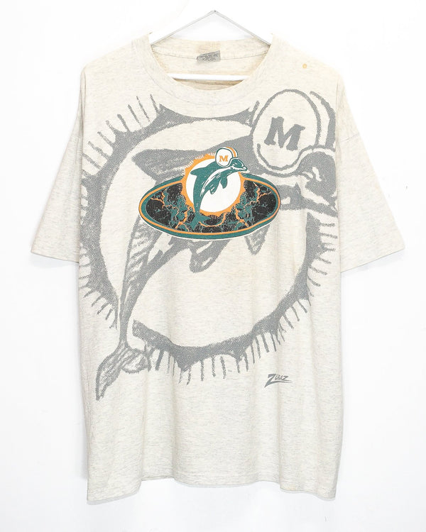 Vintage Miami Dolphins NFL T-Shirt <br> (XL)