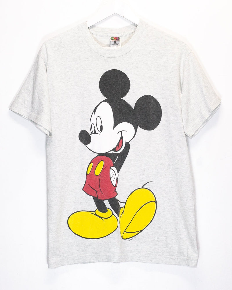 Vintage Mickey Mouse T-Shirt <br> (M/L)