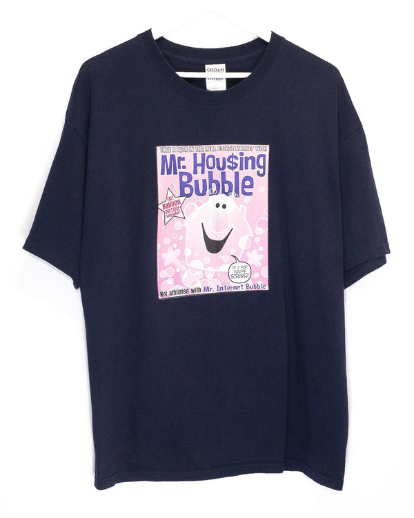Vintage 'Mr. Housing Bubble 'T-Shirt <br> (XL)
