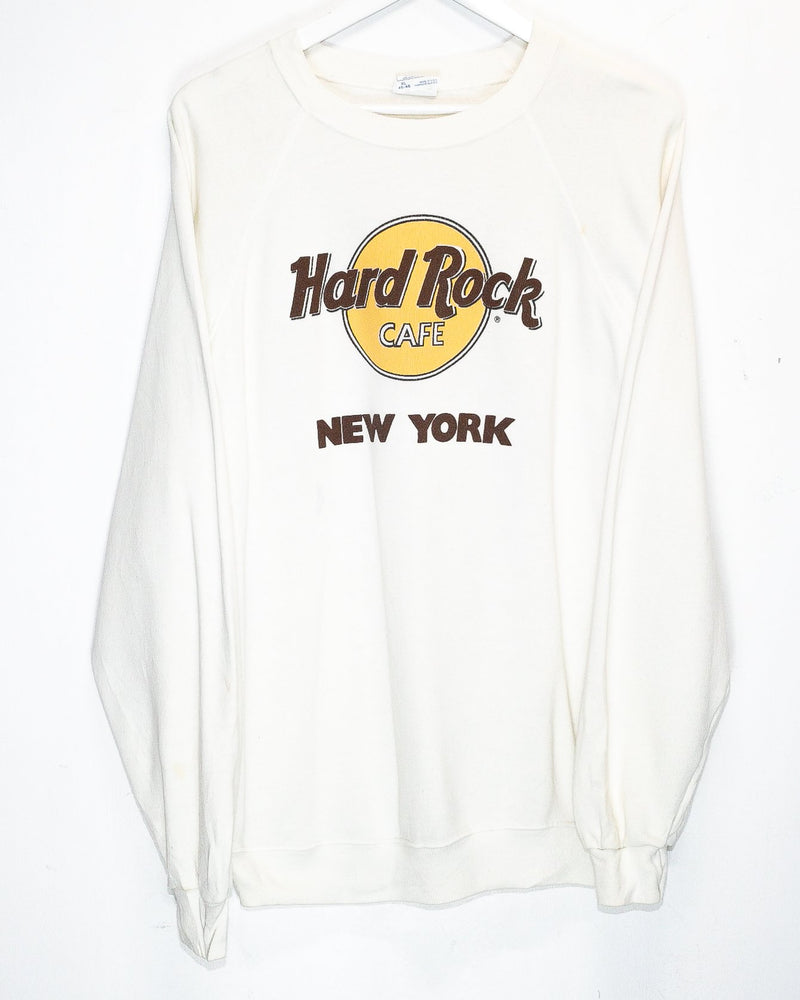 Vintage Hard Rock Cafe New York 50/50 Jumper <br> (XL)