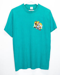 Vintage Looney Toons Embroidered T-Shirt <br> (L)