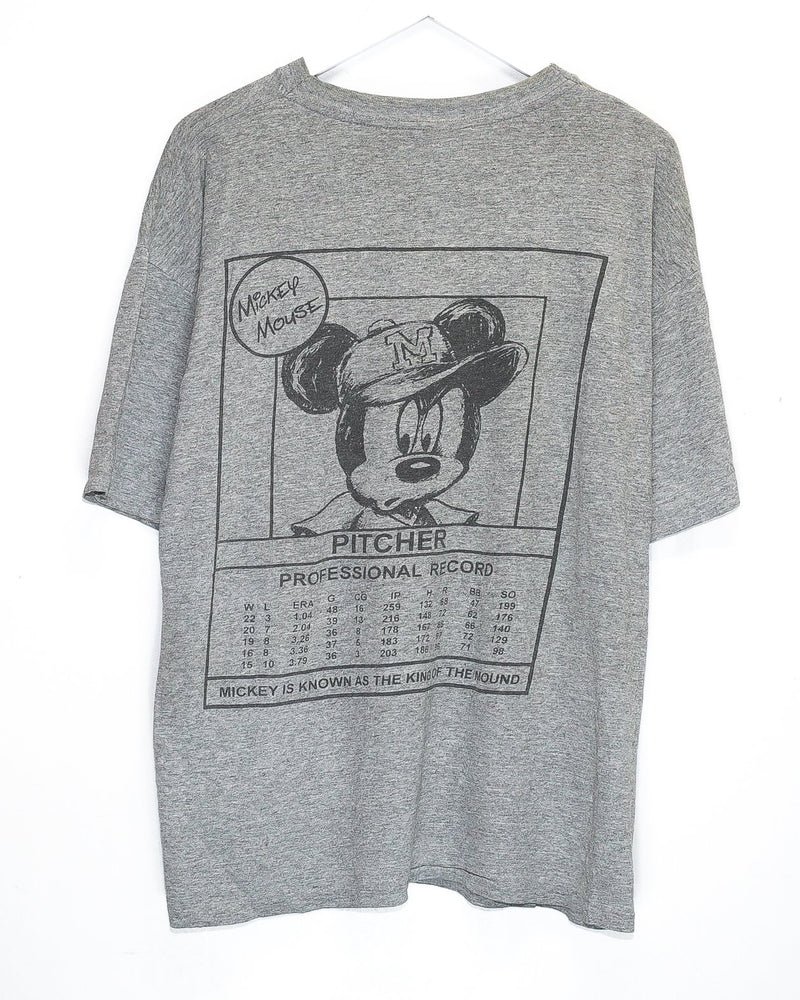 Vintage Mickey Mouse T-Shirt <br> (L/XL)