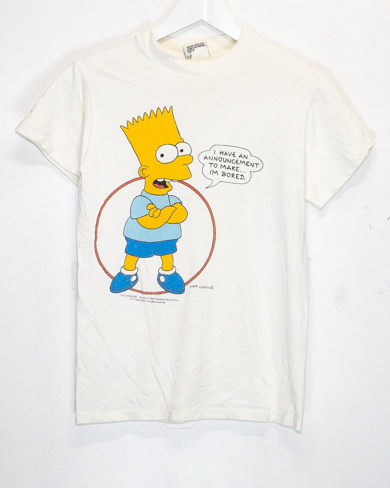Vintage Simpsons T-Shirt <br> (XS)