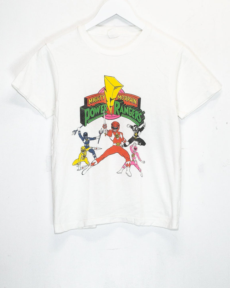 Vintage Power Rangers T-Shirt <br> (XS)
