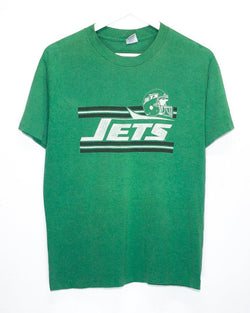 Vintage New York Jets NFL 50/50 T-Shirt <br> (S)