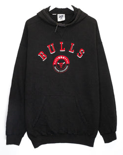 Vintage Chicago Bulls Embroidered NBA Hoodie <br> (XXL)