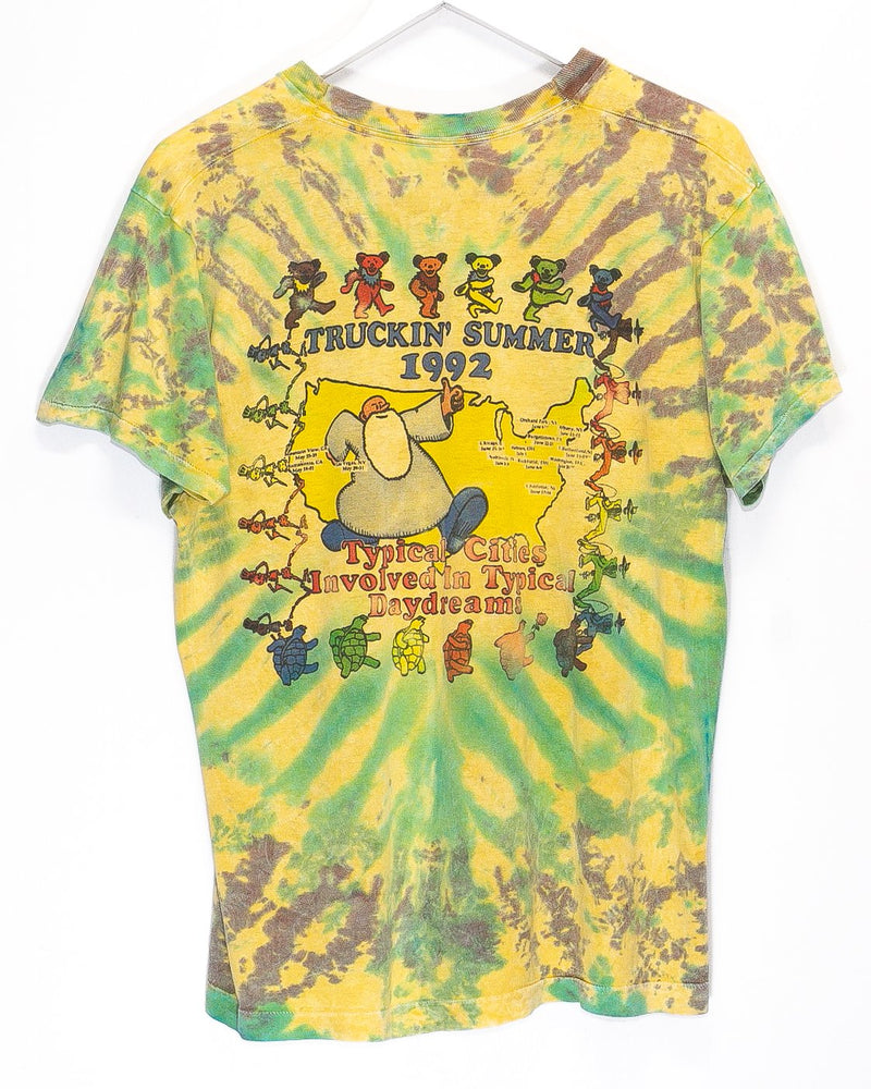 Vintage '92 Grateful Dead 'Truckin Summer Tour' T-Shirt  <br> (M/L)