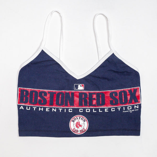 Rework'd Boston Red Sox Singlet Top <br> (XS)