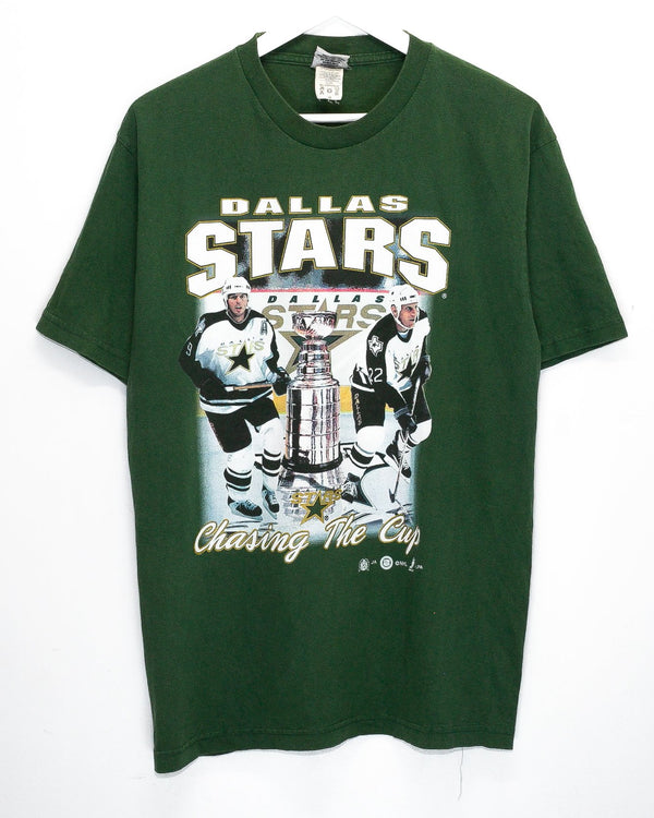 Vintage Dallas Stars Embroidered T-Shirt <br> (L)