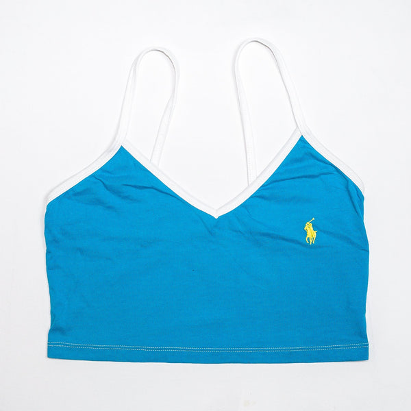 Rework'd Polo Singlet Top <br> (XS)