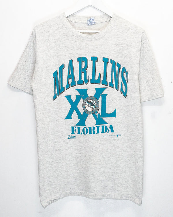 Vintage '90 Florida Marlins T-Shirt <br> (L)