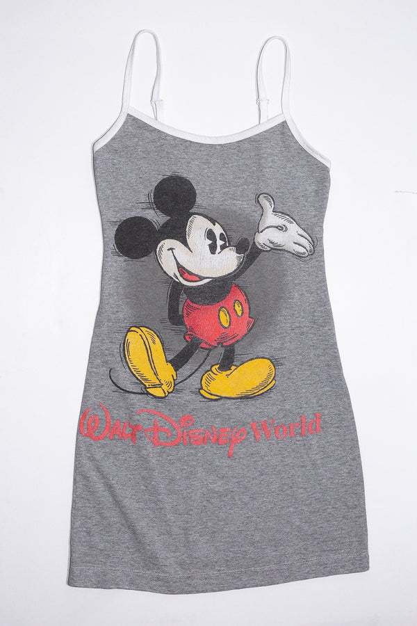 Reworkd Mickey Mouse T-Shirt Dress <br> (XS)
