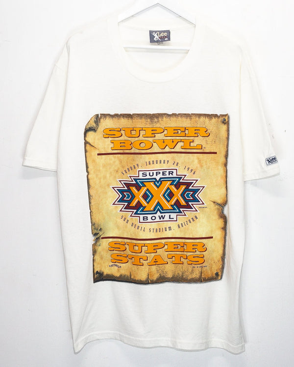 Vintage '96 Super Bowl XXX T-Shirt <br> (XXL)