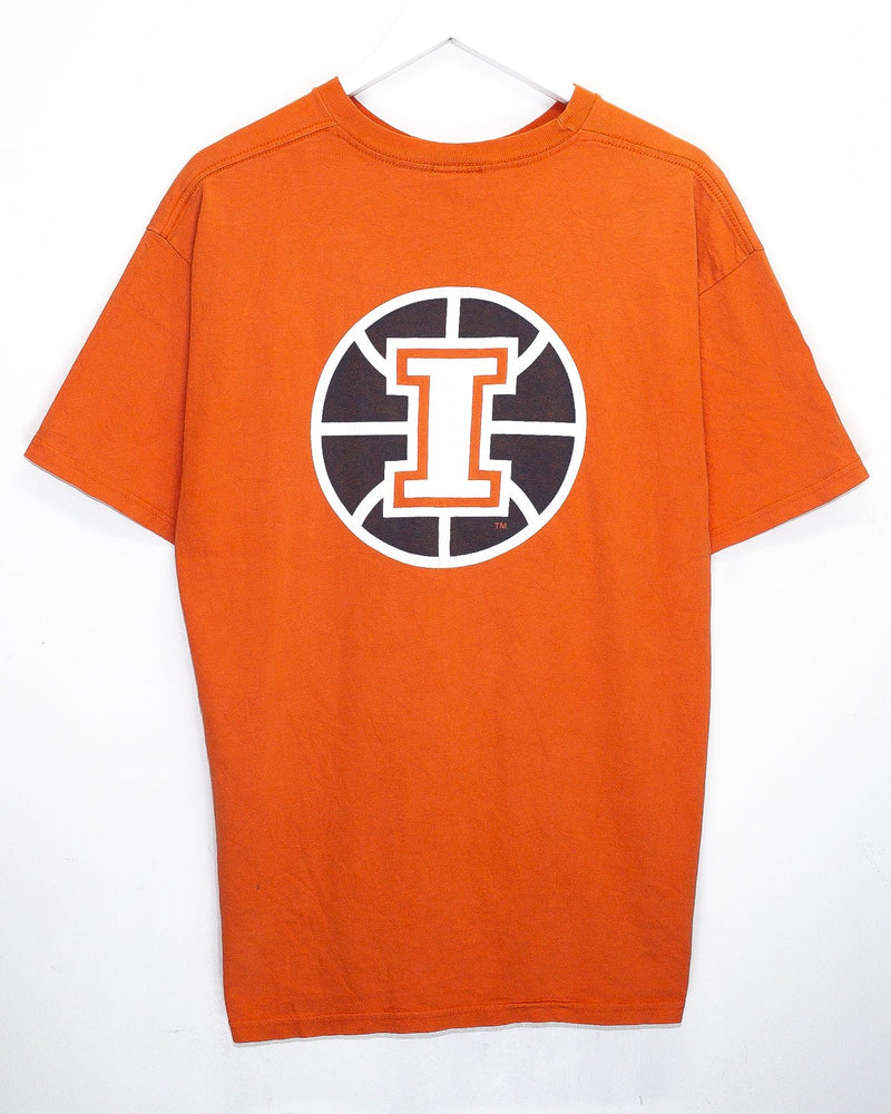 Vintage University of Illinois Nike T-Shirt <br> (L)