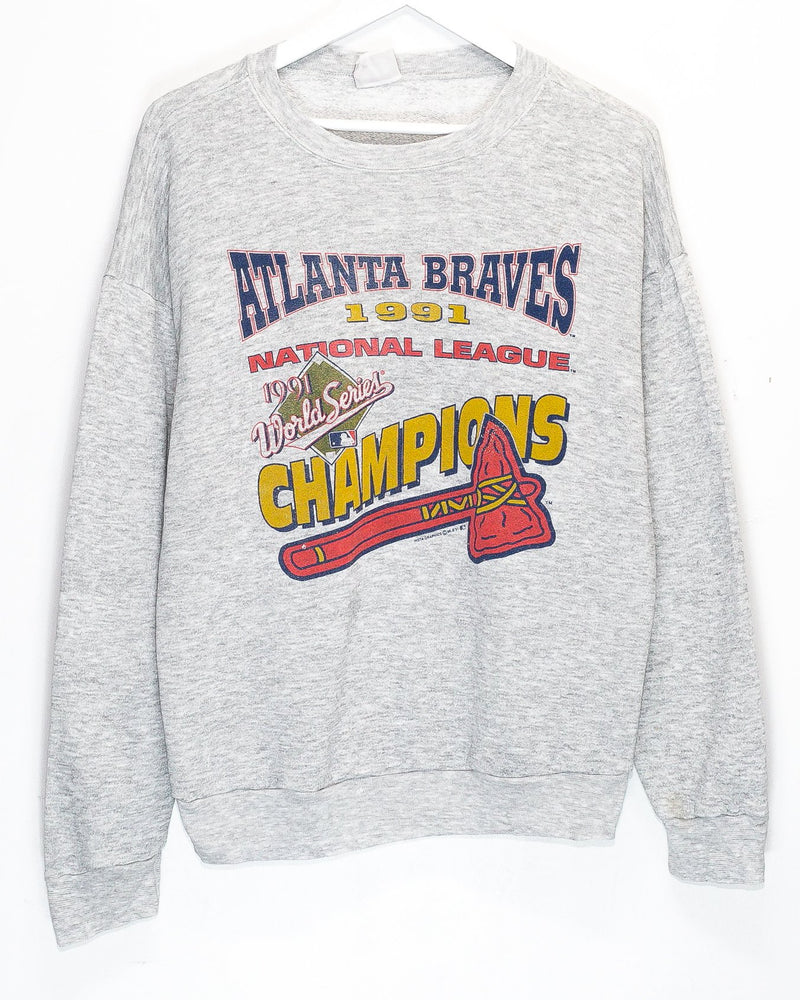 Vintage Atlanta Braves Jumper <br> (M)