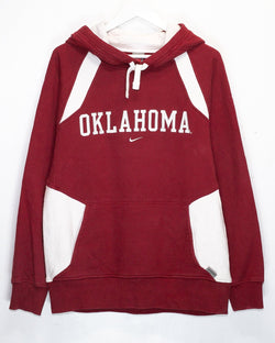 Vintage University of Oklahoma Nike Embroidered Hoodie <br> (XL)