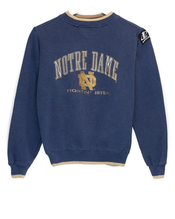 Vintage University of Notre Dame Embroidered Jumper <br> (XXS)