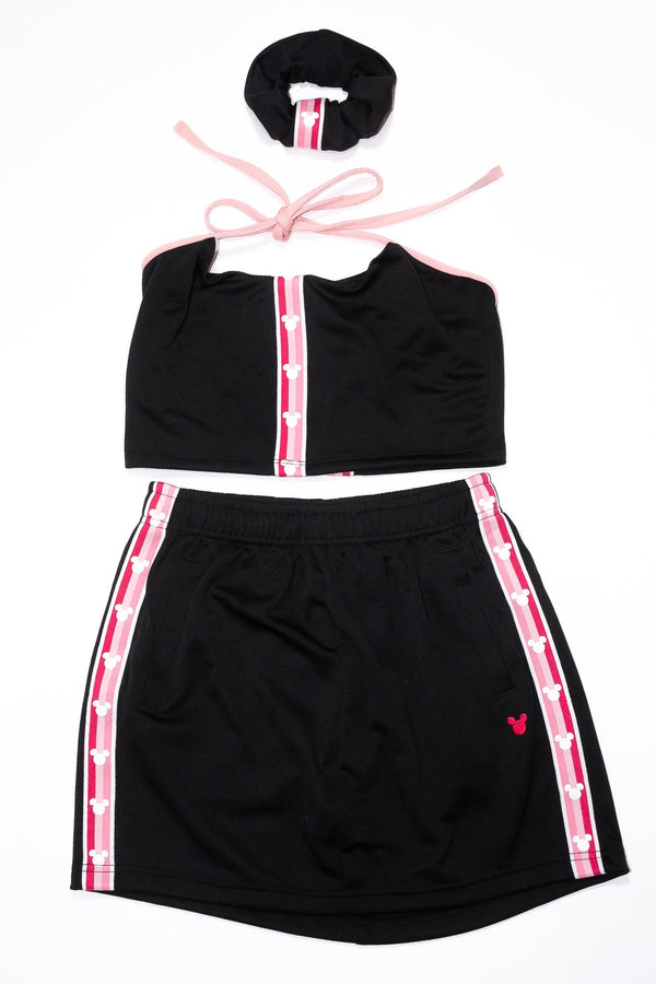 4 Piece Rework'd Mickey Mouse Skirt Tracksuit Set <br> (S)