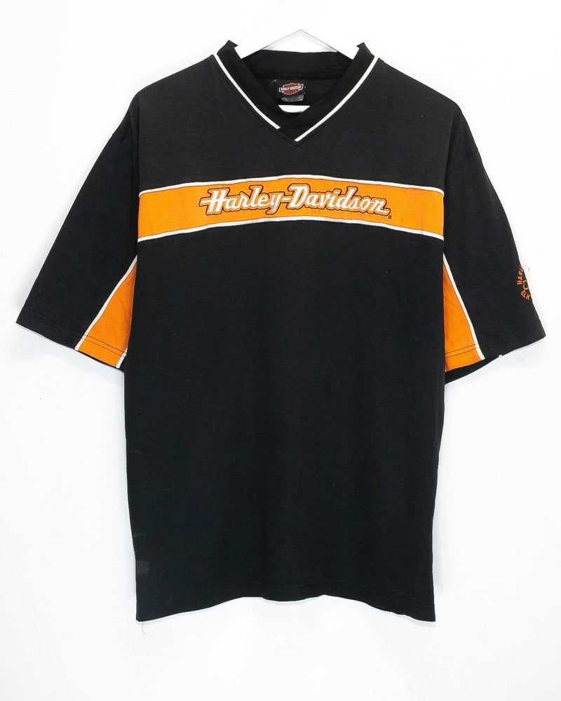 Vintage Harley Davidson Embroidered T-Shirt <br> (L)