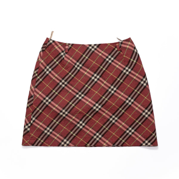 "Vintage Burberry Skirt <br> (27"")"