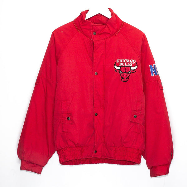 Vintage Chicago Bulls NBA Embroidered Puffer Jacket <br> (M)