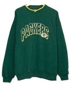 Vintage Green Bay Packers Embroidered NFL Jumper<br> (XL)