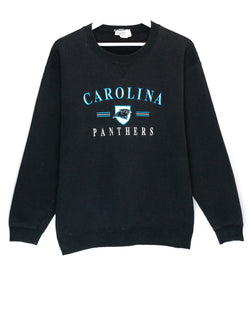 Vintage Carolina Panthers Embroidered NFL Jumper<br> (M)