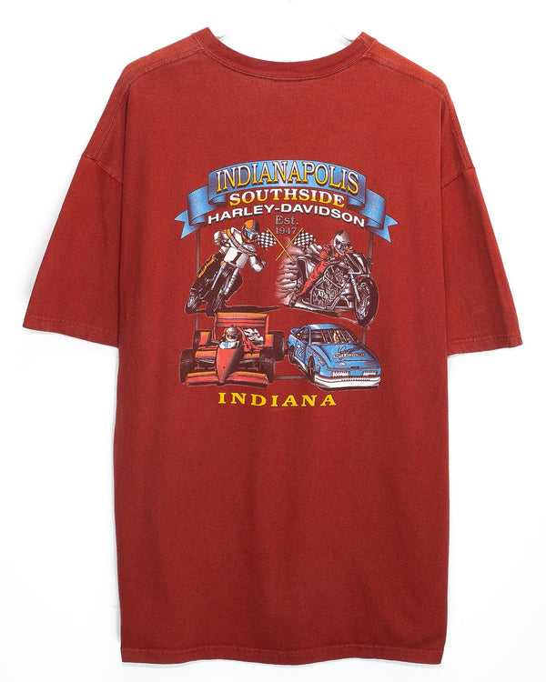 Vintage Harley Davidson 'Indianapolis, IN' T-Shirt<br> (XXL)