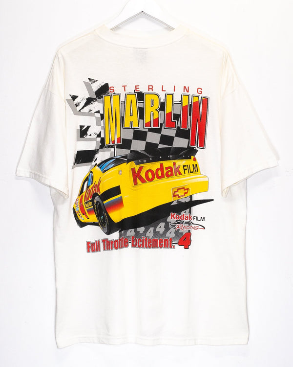 Vintage '97 Sterling Marlin Nascar Racing T-Shirt <br> (XL)