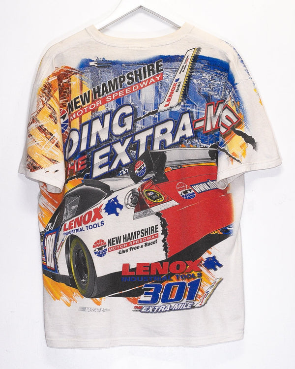 Vintage New Hampshire Motor Speedway Nascar Racing T-Shirt <br> (L)
