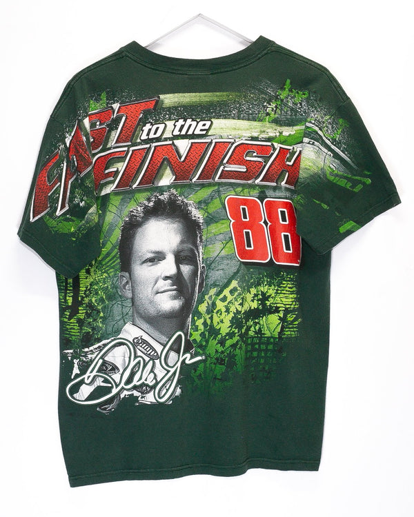 Vintage Dale Earnhardt Jr Mountain Dew Nascar Racing T-Shirt <br> (L)