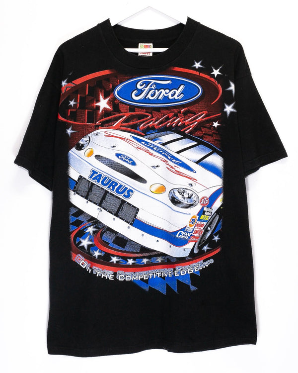 Vintage Ford Nascar Racing T-Shirt <br> (XL)