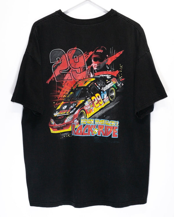 Vintage Kiss Nascar Racing T-Shirt <br> (XL/XXL)