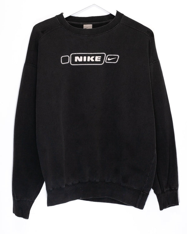 Vintage Early '00s Nike Spellout Jumper <br> (M)