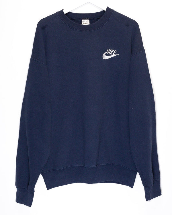 Vintage Bootleg Nike Embroidered Jumper <br> (XL)
