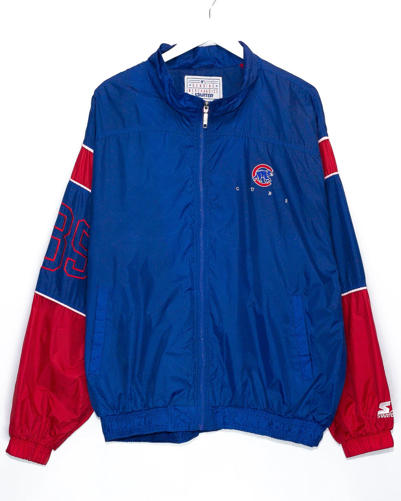 Vintage Chicago Cubs Starter Jacket <br> (XXL)