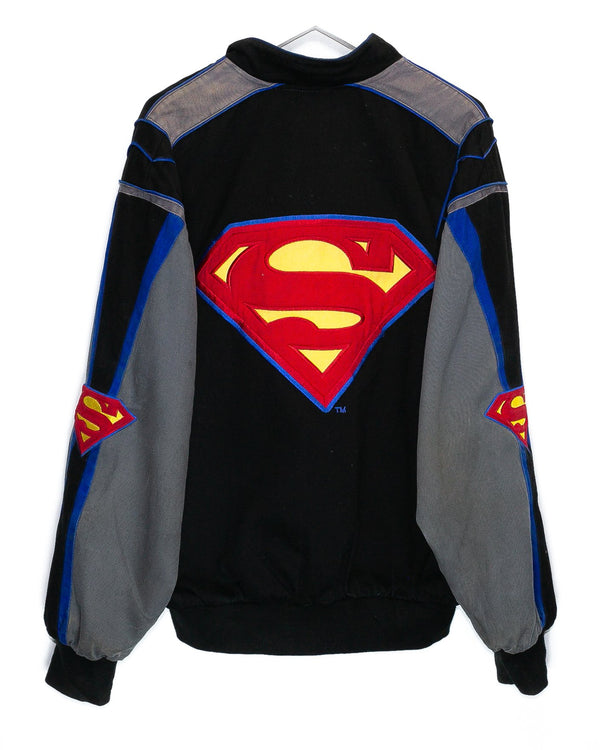 Vintage Superman Nascar Racing Jacket <br> (L)
